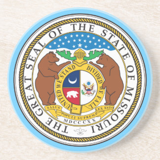 Missouri Seal Coaster