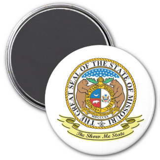 Missouri Seal Magnet