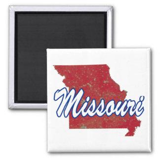 Missouri Square Magnet