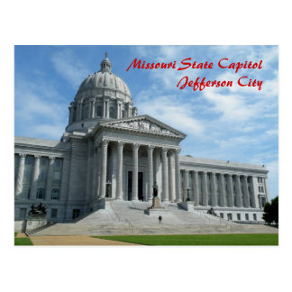 Missouri State Capitol Postcard