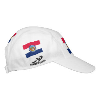 Missouri State Flag Design Hat