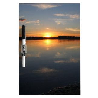 Missouri Sunset Dry Erase Board