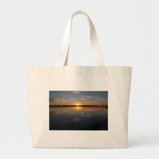 Missouri Sunset Large Tote Bag