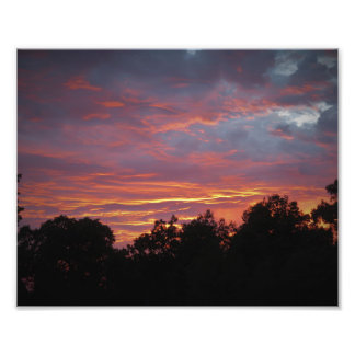 Missouri Sunset Photo Print