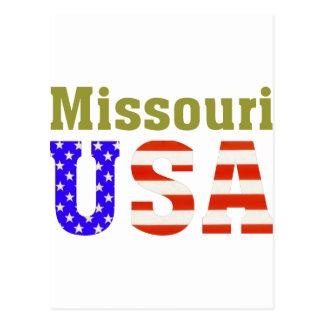 Missouri USA! Postcard