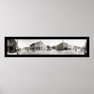 Missouri Valley, IA Photo 1908 Poster