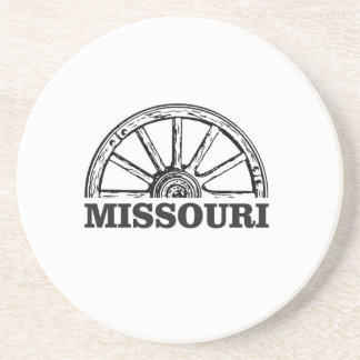 missouri wagon wheel coaster