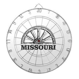 missouri wagon wheel dartboard