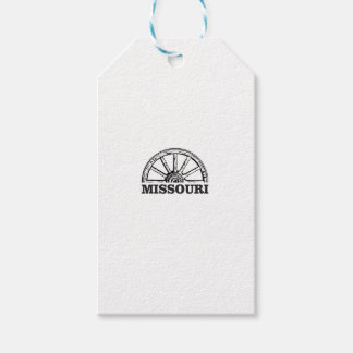 missouri wagon wheel gift tags