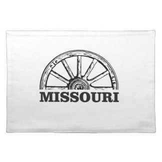 missouri wagon wheel placemat
