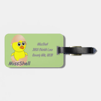 MissShel.png Luggage Tag
