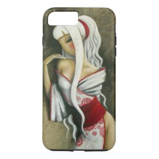 MISSTIGRI KIMONO BLANC iPhone 7 CASE