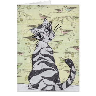 Missy Cat 01 Card