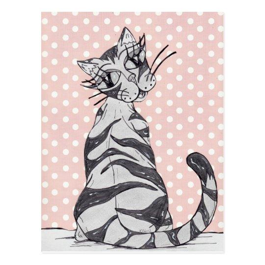 Missy Cat 02 Postcard
