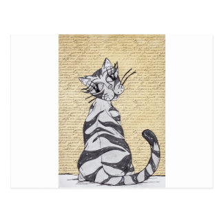 Missy Cat 7 Postcards