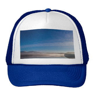 Mist on a Scottish Loch Hat/Cap Trucker Hat