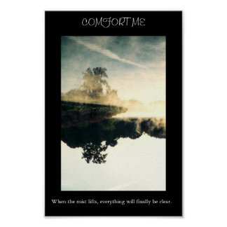 Mist On Water Poster