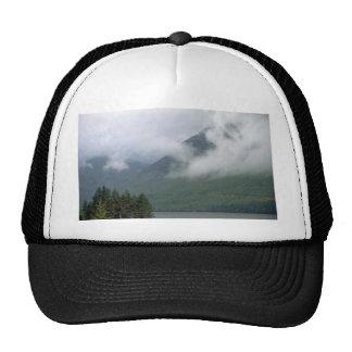 Mist over Loch Ness, northern Scotland Hats