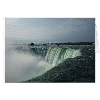 Mist over Niagara Card