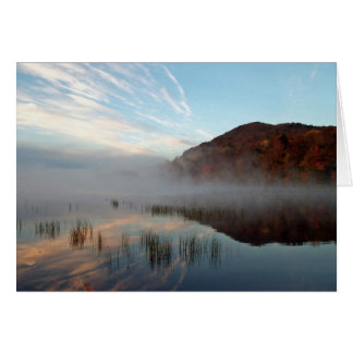 Mist over Piseco 1 Card
