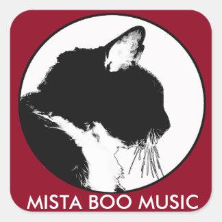 MISTA BOO MUSIC Stickers