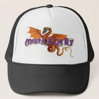 Mista SCARY Orange Dragon Logo Baseball Hat