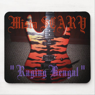 Mista SCARY Raging Bengal Mousepad Custom