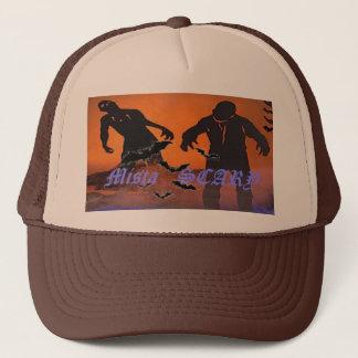 Mista SCARY Zombies, bats 19 - Customized Trucker Hat