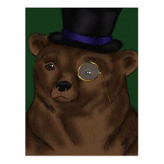 Mister Bear Postcard