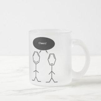 mister benzene cheers frosty mug
