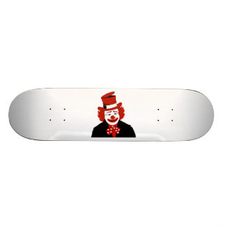 Mister Cool Clown With Dotted Bowtie Custom Skateboard
