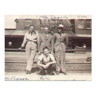 Mister Farmer in 1940 Postcard