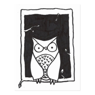 Mister Owl Postcard