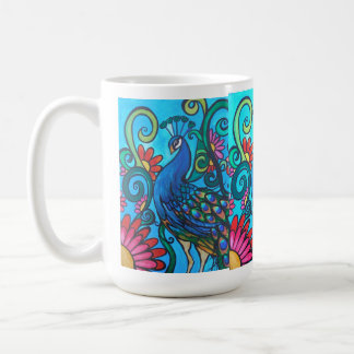 Mister Peacock Coffee Mug