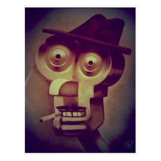 """Mister Robot"" postcard"