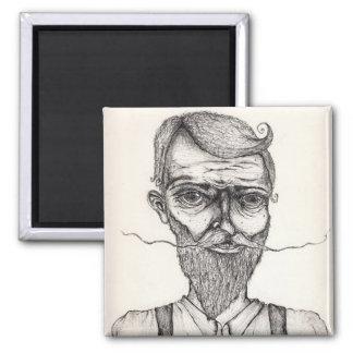 mister sir 8x10 square magnet