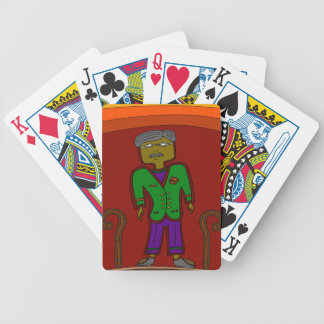 Mister Sophisticate Bicycle Playing Cards