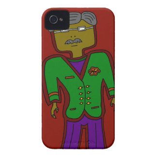 Mister Sophisticate iPhone 4 Covers
