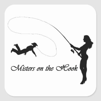 Misters on the Hook Sticker