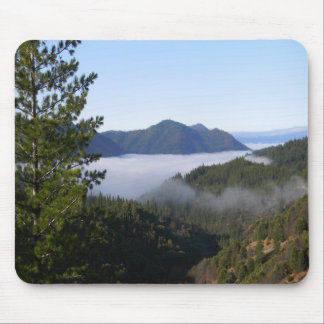 Misting fog in the mountains.. mouse pad
