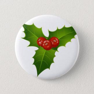 Mistletoe 2 Inch Round Button