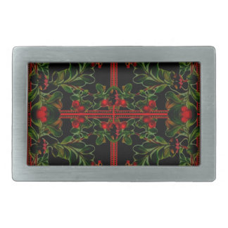 Mistletoe Belt Buckle