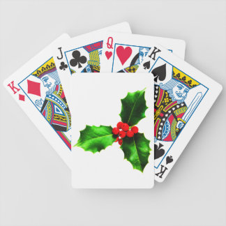Mistletoe Bicycle Playing Cards