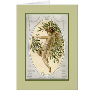 Mistletoe Fairy Card