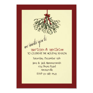 Mistletoe - Holiday Party Invitation