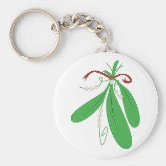 Mistletoe Keychain