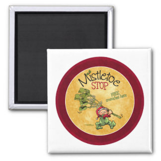 Mistletoe Kiss - Christmas Magnet