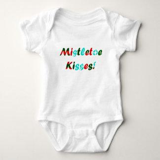 Mistletoe Kisses Baby Bodysuit