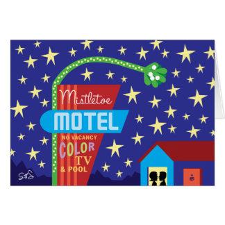 Mistletoe Motel Card