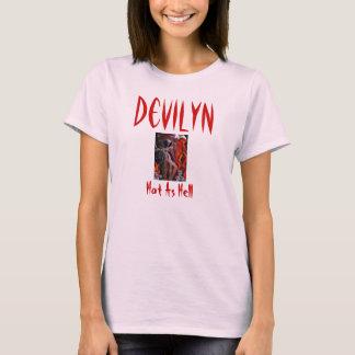 mistress of death, Devilyn, Hot As Hell--spaghetti T-Shirt